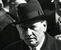 Edouard Daladier, a la radio,   le 28 septembre 1938