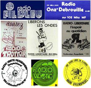 En lutte contre le monopole, le combat des radios
