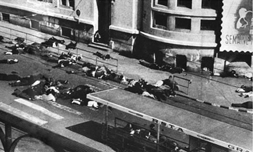 La fusillade de la rue d'Isly, le 26 mars 1962