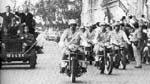 Entree triomphale du GPRA dans Alger, le  3 juillet 1962.