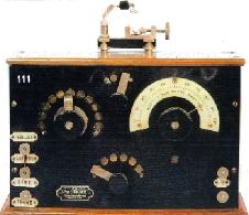 Recepteur radio a galene         Ducretet (1920)