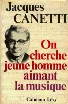 Jacques Canetti est nomme  Directeur des Programmes  de la future