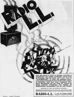 Premieres emissions sur Radio LL (1932)