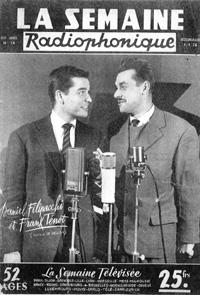 Daniel Filipacchi et Frank Tenot :