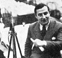 Jean Antoine, l'initiateur des reportages du Tour de France (Pour la premiere fois en 1929).