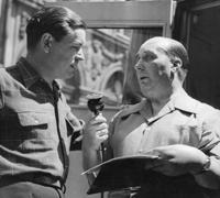 Georges Briquet (a droite) et Jean Quittard.