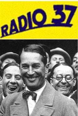 C'est Maurice Chevalier qui baptise la nouvelle station Radio 37