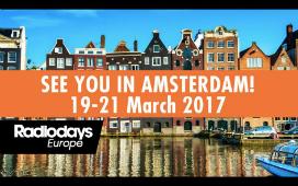 Agenda : Radiodays Europe, Amsterdam 19 – 21 Mars 2017